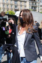 Carla Bruni - Out in Paris 04/25/2021