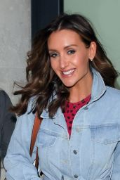 Catherine Tyldesley - Out in London 04/21/2021