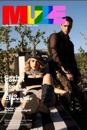 Caylee Cowan - Muze magazine April 2021