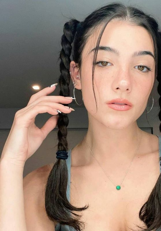 Charli D'Amelio - Live Stream Video 04/27/2021
