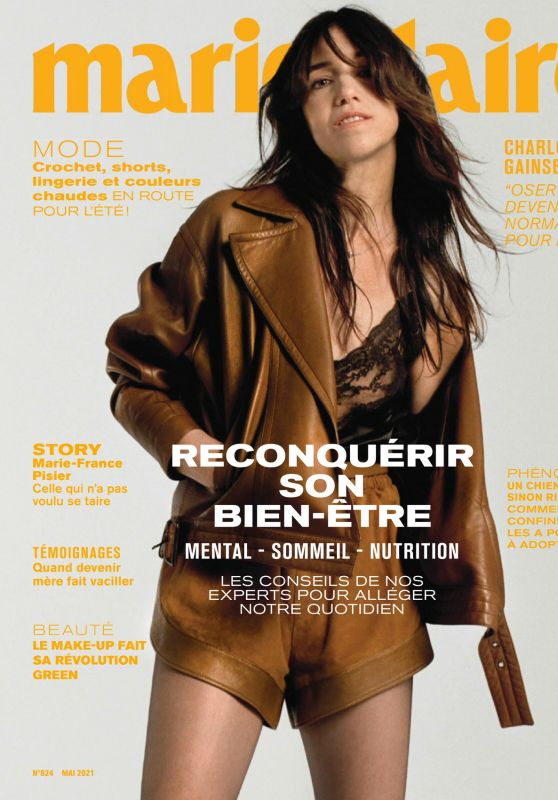 Charlotte Gainsbourg - Marie Claire France May 2021 Issue