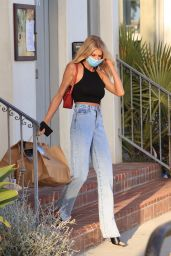 Charlotte McKinney in a Nasty Gal Outfit 04/20/2021