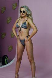 Chloe Crowhurst - Bikini Photoshoot for Fashion Brand Mirror Image in Manchester 04/15/2021