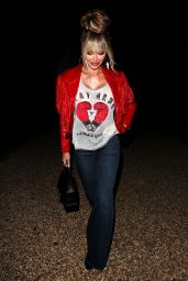 """Chloe Sims – """"The Only Way is Essex"""" TV Show Filming in Essex 04/01/2021"""
