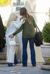 Christina Aguilera - The Peninsula Hotel in Beverly Hills 04/19/2021