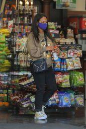 Christina Milian - Getting Gas in LA 04/15/2021