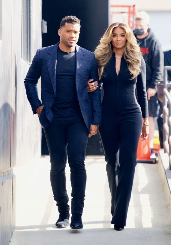 Ciara and Russell Wilson - Out in LA 04/08/2021