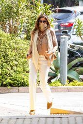 Cindy Crawford Street Style - Cafe Habana in Malibu 04/13/2021