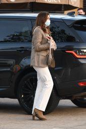 Cindy Crawford Street Style - Nobu in Malibu 04/05/2021