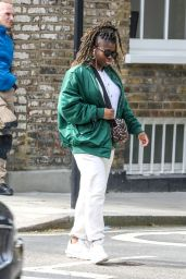 Clara Amfo - Out in London 04/01/2021