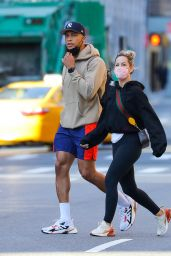 Clare Crawley and Dale Moss in Workout Clothes - New York 04/08/2021