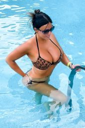 Claudia Romani - Posing at the Pool in the Seminole Hard Rock Hotel in Hollywood 04/22/2021