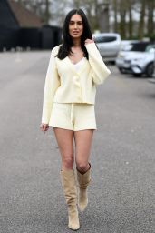 """Clelia Theodorou – """"The Only Way is Essex"""" TV Show Filming 03/28/2021"""
