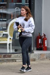 Coleen Rooney - Leaving The Style Lounge Hair Salon in Alderley Edge in Cheshire 04/27/2021
