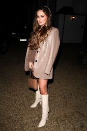 """Courtney Green – """"The Only Way is Essex"""" TV Show Filming in Essex 04/01/2021"""