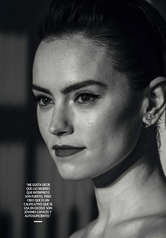 Daisy Ridley - Fotogramas Magazine April 2021 Issue