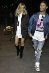 Danielle Fogerty - Night Out With Ross Worswick at The Ivy in Manchester 04/17/2021