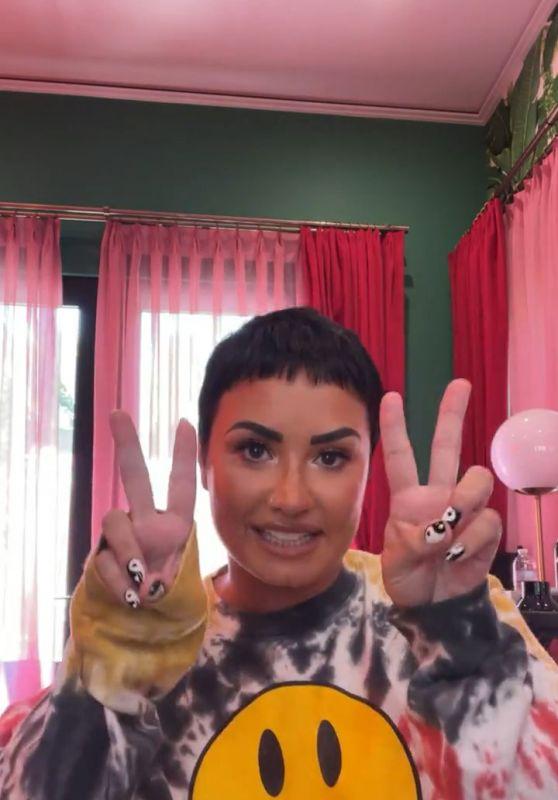 Demi Lovato - Live Stream Video 04/19/2021