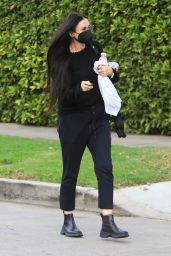 Demi Moore in Comfy Outfit in Los Angeles 04/14/2021
