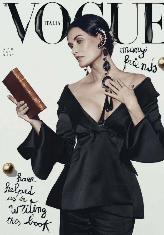 Demi Moore - Vogue Italia April 2021 Issue