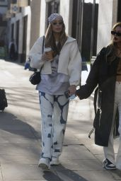 Demi Sims and Francesca Farago - Out in London 03/30/2021