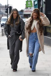 """Demi Sims and Francesca Farago - """"The Only Way is Essex"""" TV Show Filming in Essex 04/06/2021"""