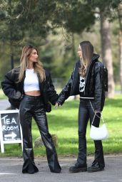 "Demi Sims and Francesca Farago - ""The Only Way is Essex"" TV Show Filming in Essex 04/11/2021"