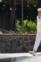 "Diane Keaton - ""Mack & Rita"" Filming Set in Los Angeles 04/06/2021"