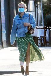 Diane Kruger - Out in West Hollywood 04/27/2021