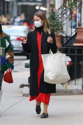 Dianna Agron - Shopping in New York 04/19/2021