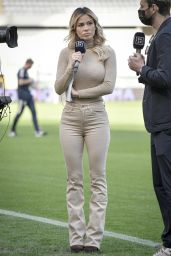 Diletta Leotta at Turin vs Juventus at the Grande Torino Olympic Stadium 04/03/2021