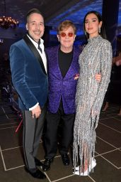 Dua Lipa - Elton John AIDS Foundation Academy Awards Viewing Party 04/25/2021