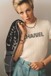 Edie Campbell - Vogue UK May 2021 Issue