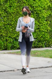 Eiza Gonzales in Workout Gear in West Hollywood 04/02/2021