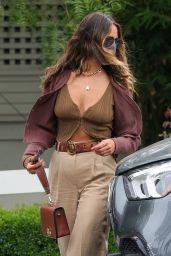 Eiza Gonzalez is Stylish - San Vicente Bungalows in LA 04/26/2021