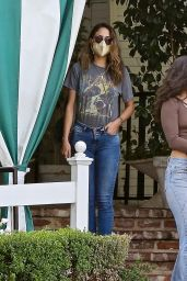 Eiza Gonzalez - Out in West Hollywood 04/10/2021