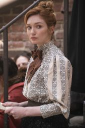 """Eleanor Tomlinson - """"The Nevers"""" Poster Photo and Trailer"""