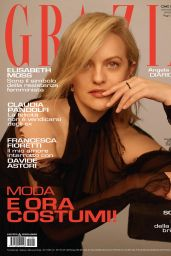 Elisabeth Moss - Grazia Italy 04/29/2021 Issue