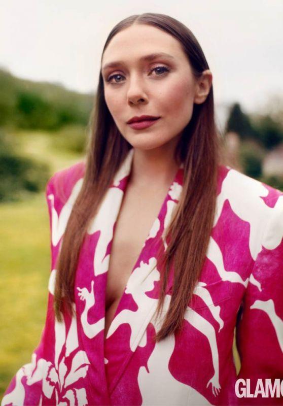 Elizabeth Olsen - Glamour Magazine UK April 2021