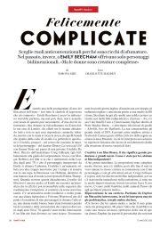 Emily Beecham - Vanity Fair Italy 04/12/2021 Issue