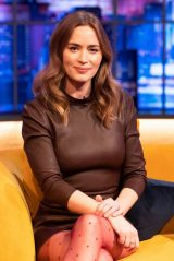 Emily Blunt - Jonathan Ross Show in London 04/17/2021