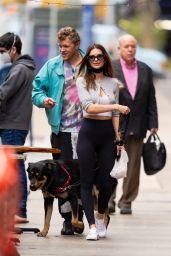 Emily Ratajkowski - Walking Her Dog in NYC 04/21/2021
