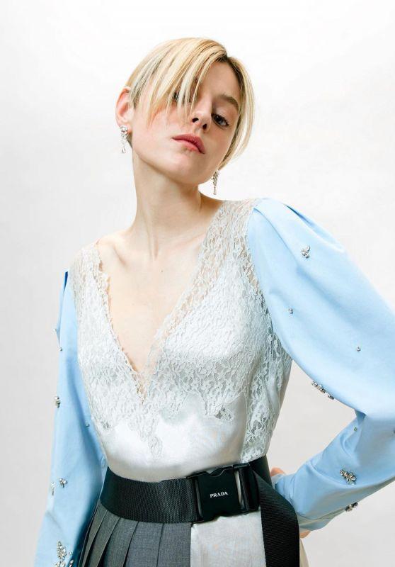 Emma Corrin – SAG Awards Photoshoot April 2021