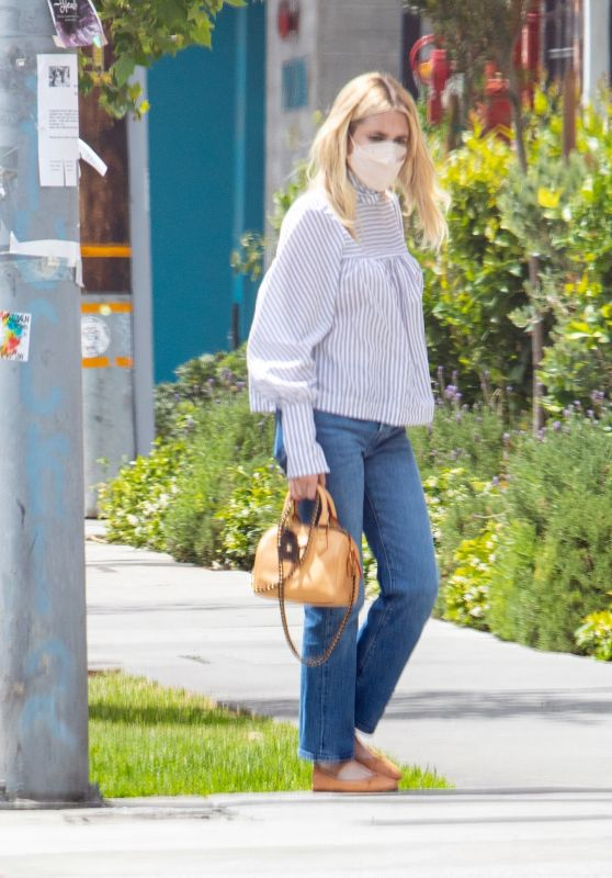 Emma Roberts and Garrett Hedlund - Out in Los Angeles 04/25/2021