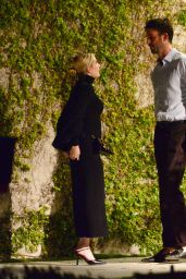Emma Roberts - Arrives to Dinner Party in Beverly Hills 04/23/2021