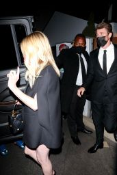 Emma Roberts at a Private Oscars After Party in LA 04/25/2021