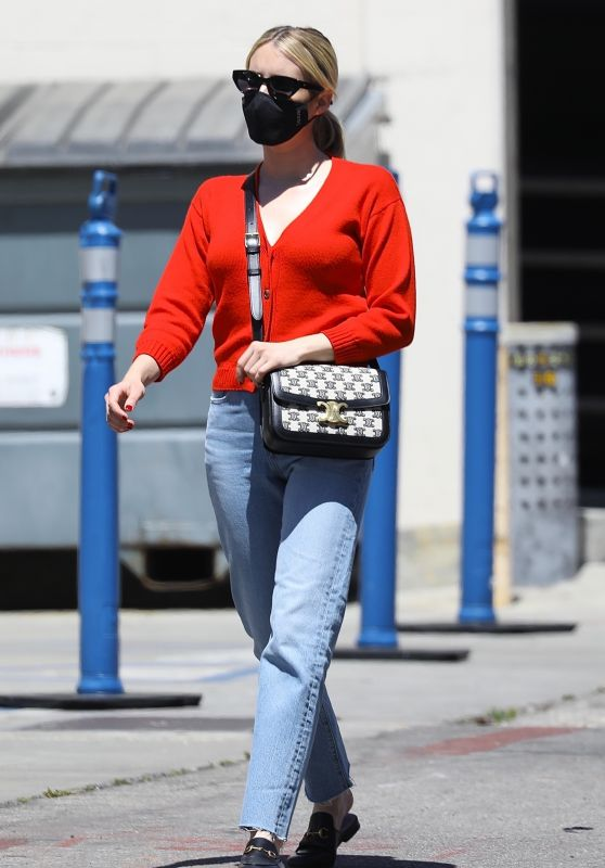 Emma Roberts - Shopping on Rodeo Dr. in Beverly Hills 04/29/2021