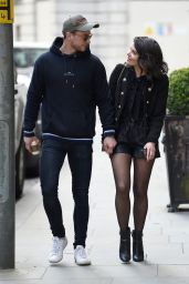 Faye Brookes and Joe Davies at Evelyn House Of Hair and Beauty in Manchester 04/15/2021