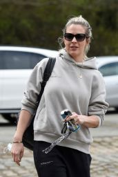Gemma Atkinson - Arriving at Work at Hits Radio in Manchester 04/01/2021