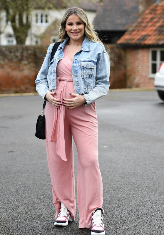 """Georgia Kousoulou – """"The Only Way is Essex TV Show Filming in Essex 03/28/2021"""